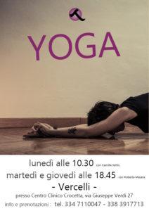 yoga vercelli centro clinico crocetta